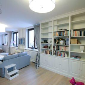 Biblioteki zabudowy stylowe