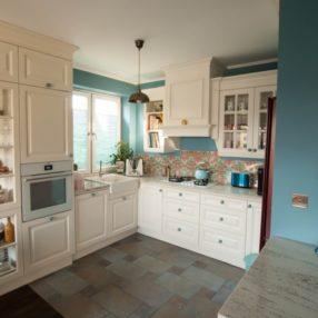 Kuchnia angielska meble i kolory