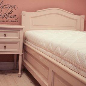 Sypialnia we francuskim stylu