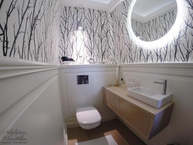 Panelowanie ścienne w łazience