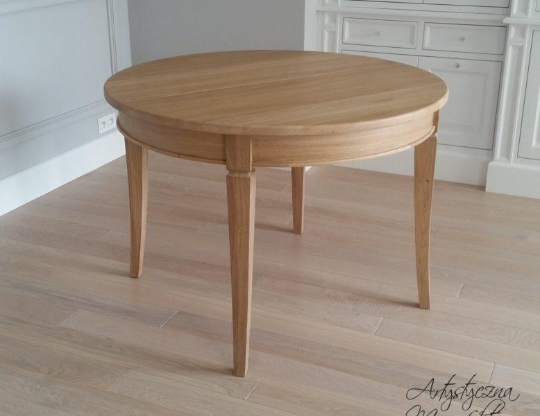 Stół dębowy rozkładany 3