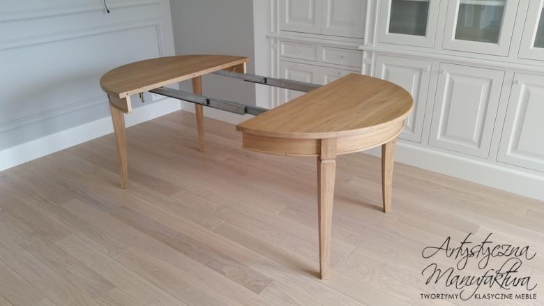 Stół dębowy rozkładany 4