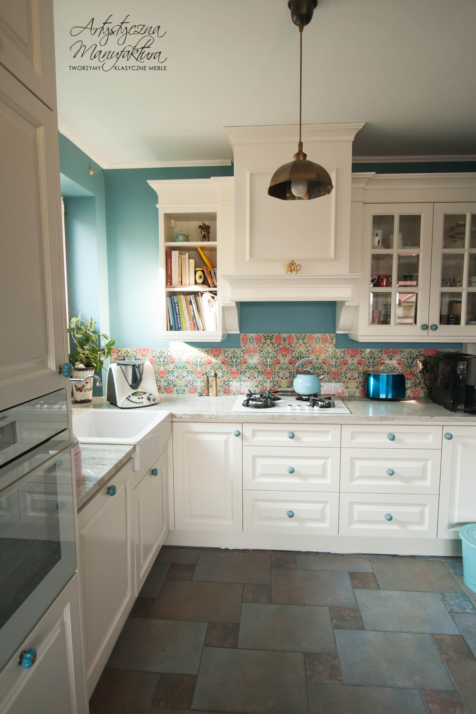 kuchnia angielska meble i kolory artystyczna manufaktura