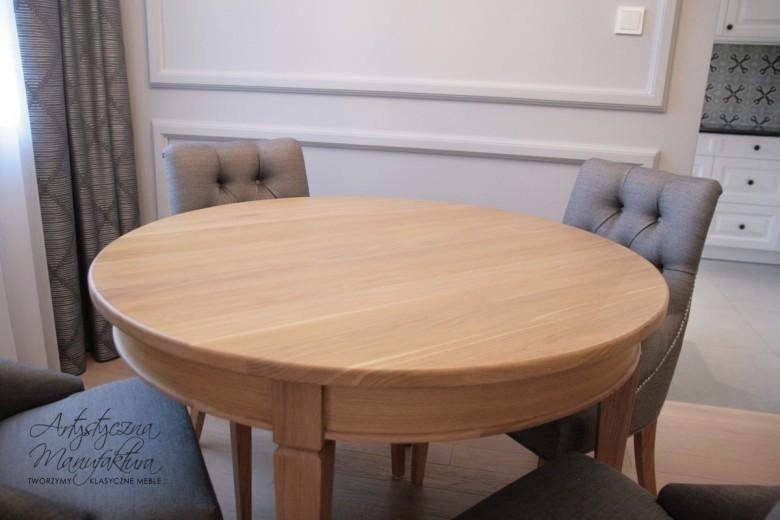 Stół dębowy rozkładany 5