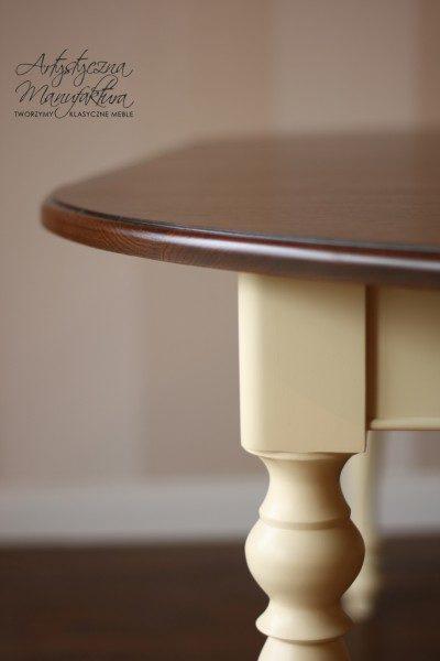 Stół rozkładany olcha 2