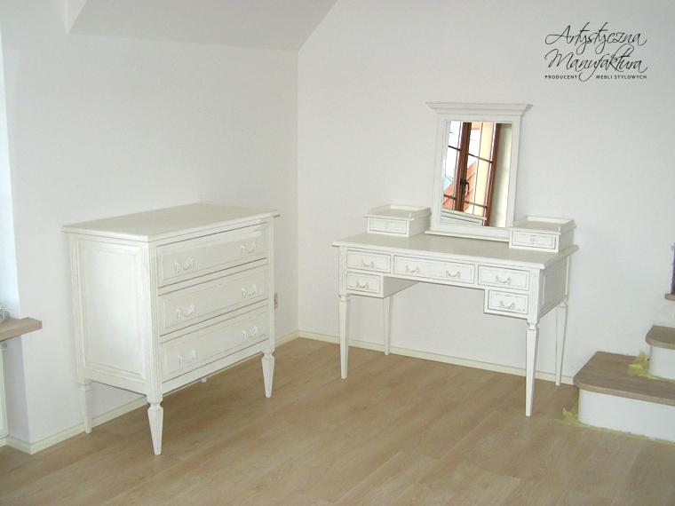 Sypialnia francuska – toaletka 1