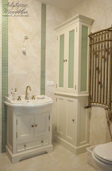 Szafki łazienkowe stylowe 1