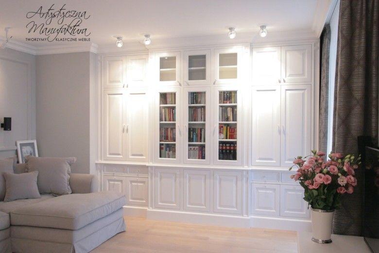 Klasyczna biała biblioteka 3