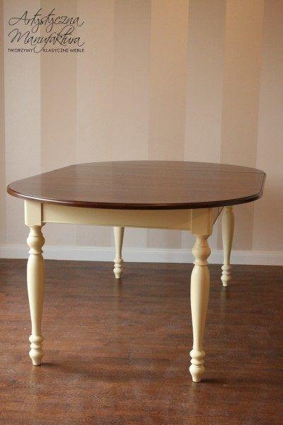 Stół rozkładany olcha 3